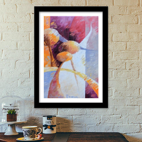 Autumn light Premium Italian Wooden Frames | Artist : BEDEUR Beatrice