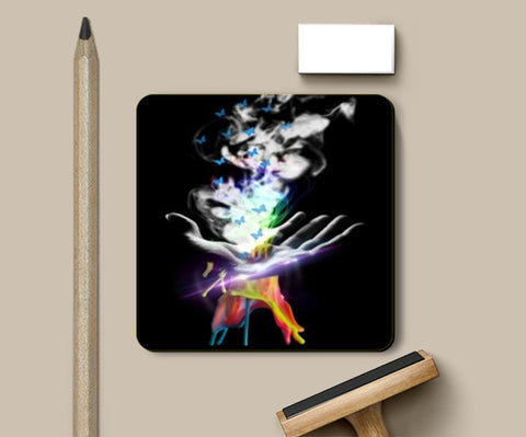 Magical Colors Coasters | Artist : BhagyaShri