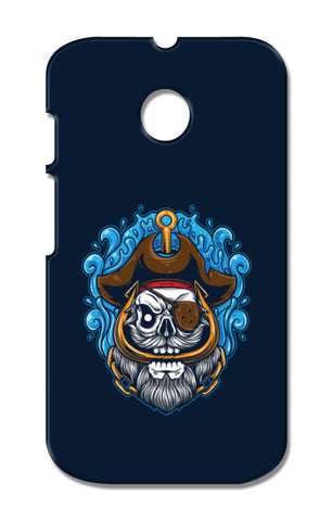 Skull Cartoon Pirate Moto E XT1021 Cases | Artist : Inderpreet Singh