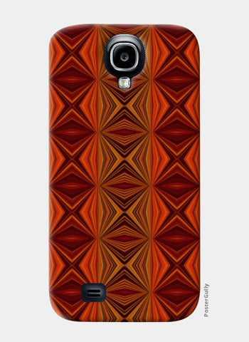 Samsung S4 Cases, Modern Abstract Geometric Pattern Samsung S4 Cases | Artist : Seema Hooda, - PosterGully