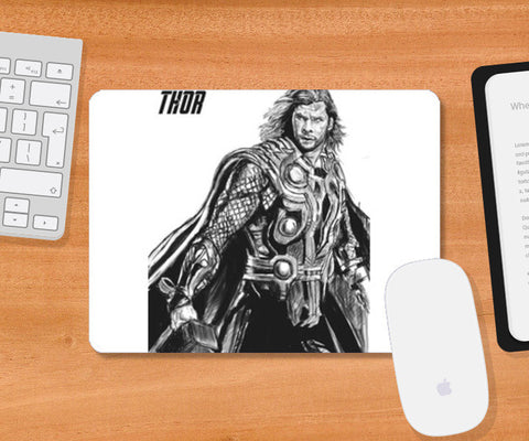 Mousepad, Son of Odin: Thor Mousepad | Artist : Draw On Demand, - PosterGully