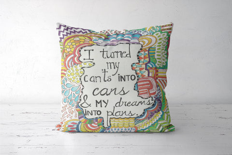 cant's into can's  Cushion Covers | Artist : Suneera Heloise Mendonsa