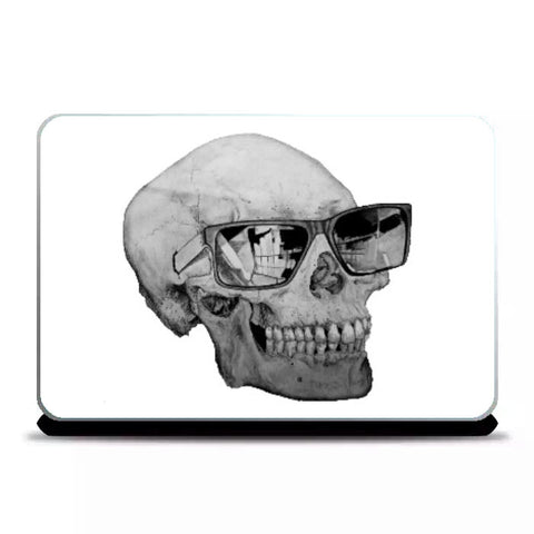 Laptop Skins, Cool Skull Laptop Skin | Shashank Sharma, - PosterGully