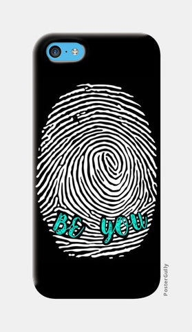 Be Unique Be You iPhone 5c Cases | Artist : safira mumtaz