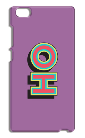 Colorful Pop Art Typography Xiaomi Mi Note Cases | Artist : Stuti Bajaj