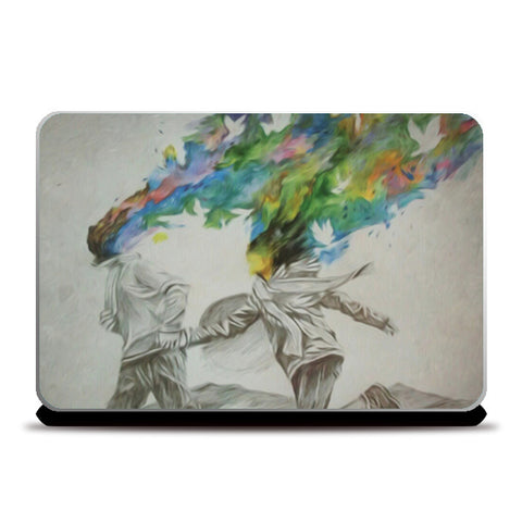 Laptop Skins, Mindblown Laptop Skins | Artist : Sukanya Chakraborty, - PosterGully