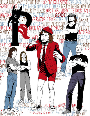 PosterGully Specials, AC/DC Greatest Songs, - PosterGully