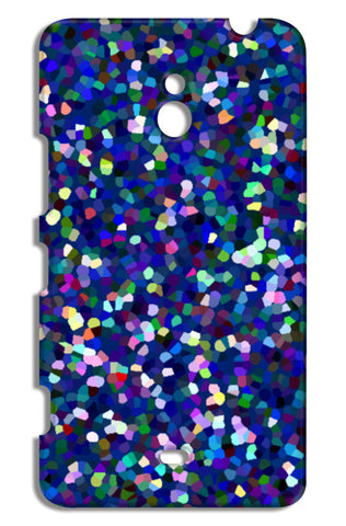 Colorful Blue Abstract Mosaic Design Pattern Nokia Lumia 1320 Cases | Artist : Seema Hooda