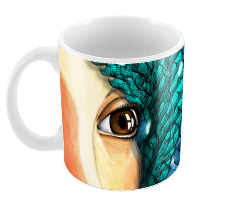 THE VISION Coffee Mugs | Artist : Jessica Maria