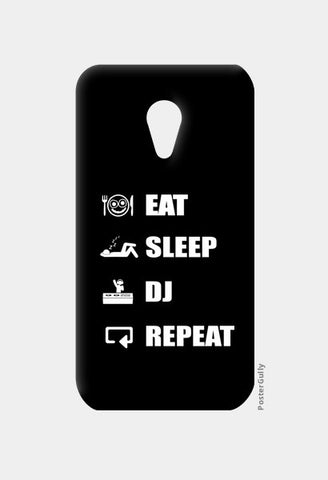 Moto G2 Cases, EAT SLEEP DJ REPEAT - Moto G2 | Artist : DJ Ravish, - PosterGully