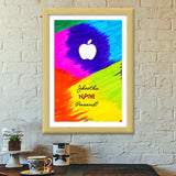 Apple Perfection - Jhootha Nahi Pasand Premium Italian Wooden Frames | Artist : Miraculous