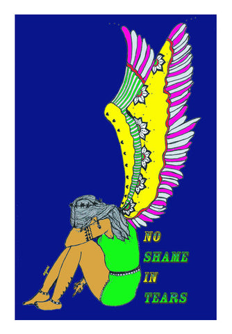 No Shame In Tears Art PosterGully Specials