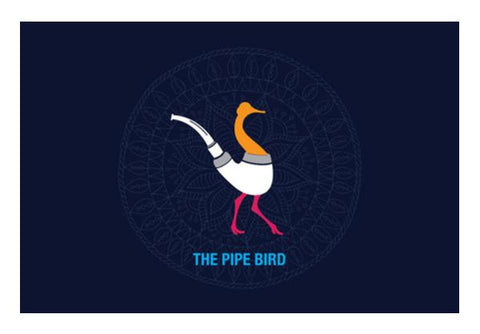 THE PIPE BIRD Wall Art PosterGully Specials