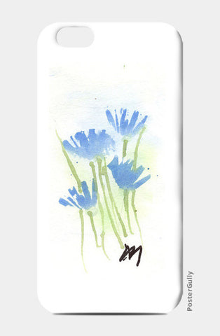 Cornflower Watercolour iPhone 6/6S Cases | Artist : Manas Arvind