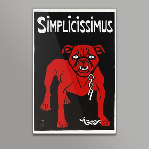 Simplicissimus Metal Prints | Artist : Scatterred Partikles