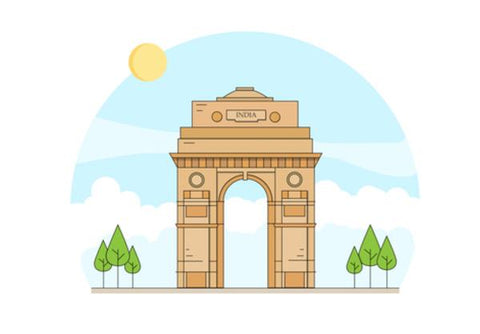 India Gate New Delhi Wall Art PosterGully Specials