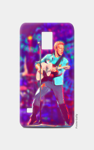 Chris Martin from Coldplay Samsung S5 Cases | Artist : Ayushi Jain