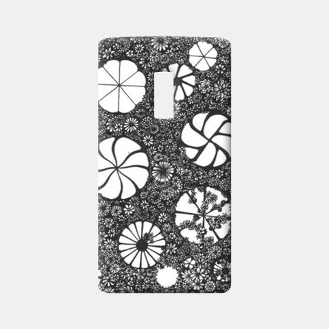 One Plus Two Cases, Hand-drawn Flower Art Case One Plus Two Cases | Artist : Aniruddha De, - PosterGully