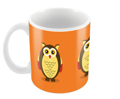 Cute cartoon Owl Coffee Mugs | Artist : Designerchennai