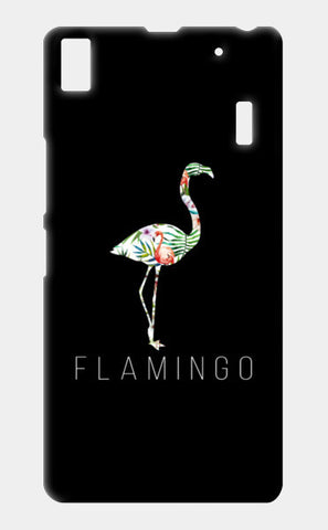Flamingo Lenovo A7000 Cases | Artist : DISHA BHANOT