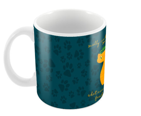Smelly Cat | FRIENDS Coffee Mugs | Artist : Ved Uttam