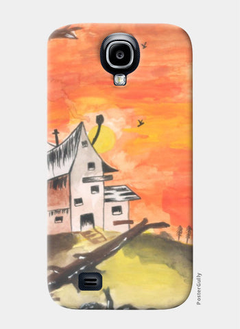 Samsung S4 Cases, Haunted House Samsung S4 Case | Artist: Teena Chauhan, - PosterGully