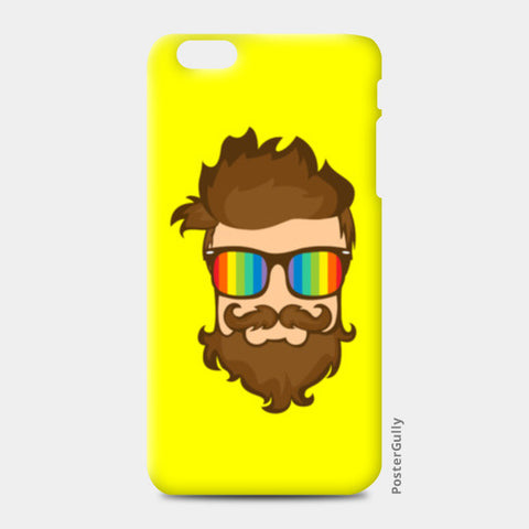 HIPSTER iPhone 6 Plus/6S Plus Cases | Artist : Dhruv Narelia