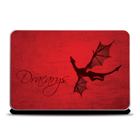 Laptop Skins, Dracarys Game of Thrones Laptop Skins | Artist : Kshitija Tagde, - PosterGully