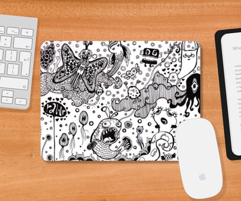 Mousepad, Beautiful let down Mousepad | Artist : Madhurima Biswas, - PosterGully