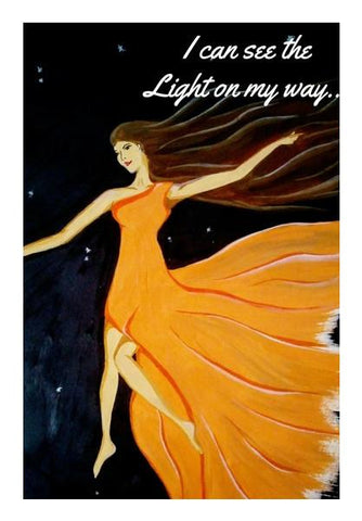 PosterGully Specials, See the light painting Wall Art | Artist : Pallavi Rawal, - PosterGully