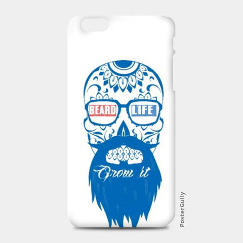 Beard life  iPhone 6 Plus/6S Plus Cases | Artist : nilesh gupta