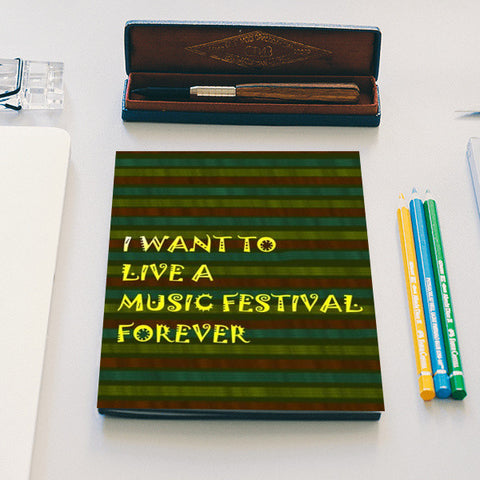 Music is life Notebook | Artist : Pallavi Rawal
