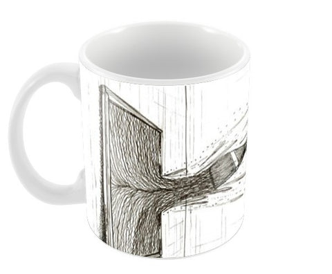 Mirror Coffee Mugs | Artist : kartikey sharma