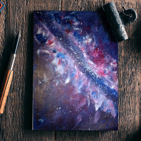 The universe @srijana's Notebook | Artist : srijana giri