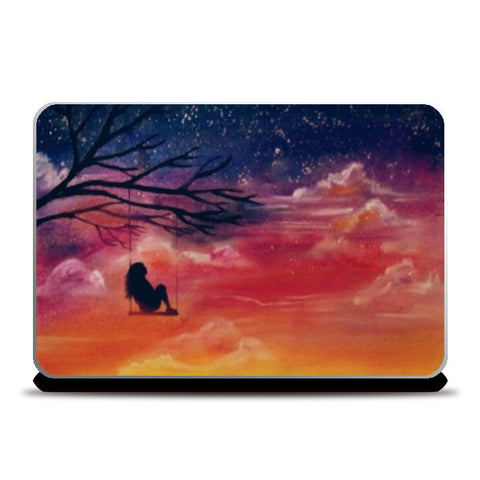 Sunset Laptop Skins | Artist : Sukanya Chakraborty
