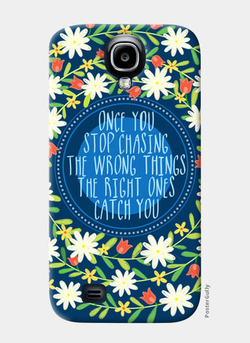 MOTIVATIONAL QUOTE Samsung S4 Cases | Artist : Paper Pankh