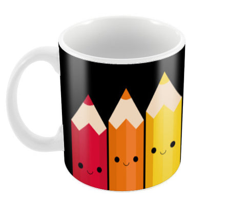 Colors & Pencils Coffee Mugs | Artist : Shweta Paryani