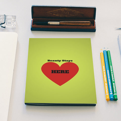 Beauty is in the Heart Notebook | Artist : Pallavi Rawal