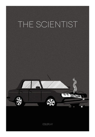 The Scientist Coldplay Poster Wall Art | Artist : Rohan Jaiswal