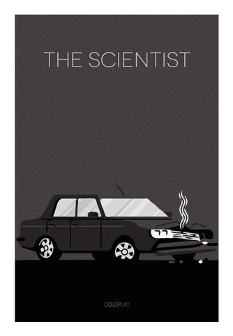 The Scientist Coldplay Poster Art PosterGully Specials