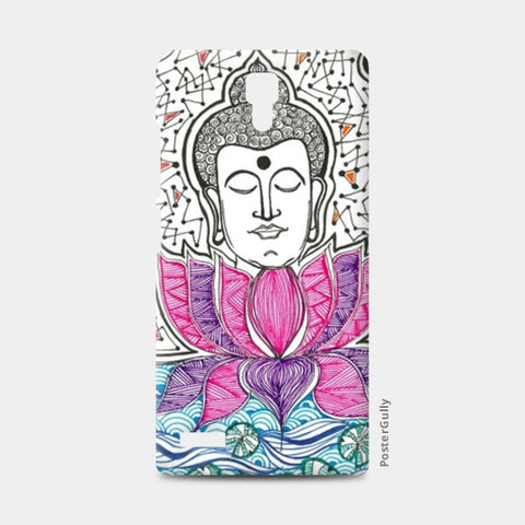 Redmi Note Cases, Buddha and Lotus | Enlightenment | Peace Redmi Note Cases | Artist : Amulya Jayapal, - PosterGully