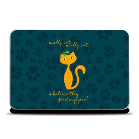 Smelly Cat | FRIENDS Laptop Skins | Artist : Ved Uttam