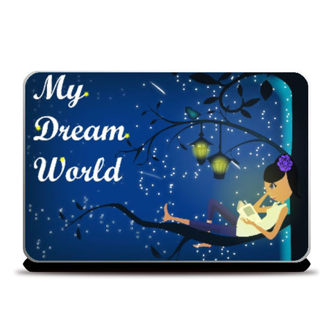 Laptop Skins, Dream Laptop Skin | Artist: Vidhisha Kedia, - PosterGully