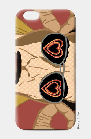 Dabangg Heart Glasses iPhone 6/6S Cases | Artist : Priyanka Paul
