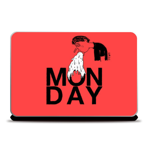 Monday Laptop Skins | Artist : Aroop Mishra