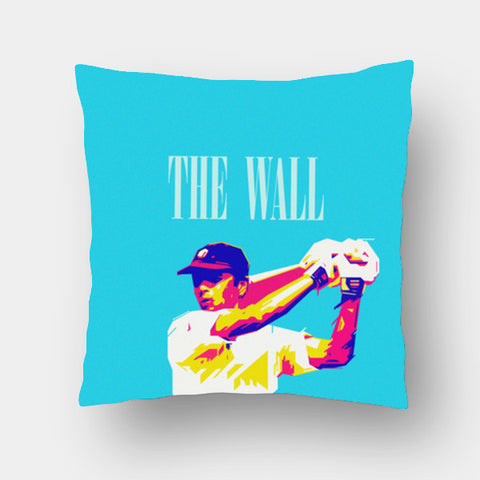 Cushion Covers, THE WALL DRAWID CRICKET INDIA WORLD CUP  Cushion Covers | Artist : dooo, - PosterGully