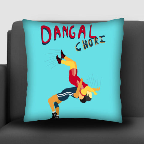 Dangal Chori Cushion Covers | Artist : Nitin Kapoor
