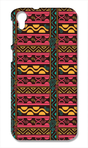 Abstract geometric pattern african style HTC Desire 828 Cases | Artist : Designerchennai