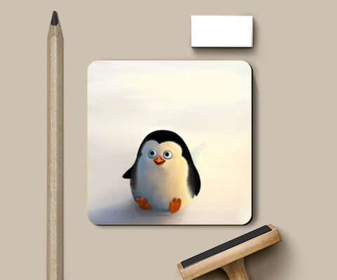 Coasters, Baby Penguin Coasters | Artist : Hriddhi Dey, - PosterGully
