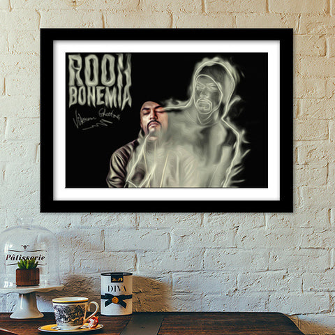 Premium Italian Wooden Frames, Bohemia Rooh Premium Italian Wooden Frames | Artist : Vikram Ghattora, - PosterGully - 1